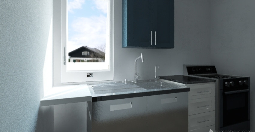 Cocina Idea 01 Interior Design Render
