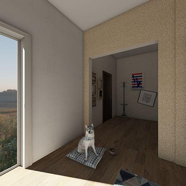 The Art House Interior Design Render