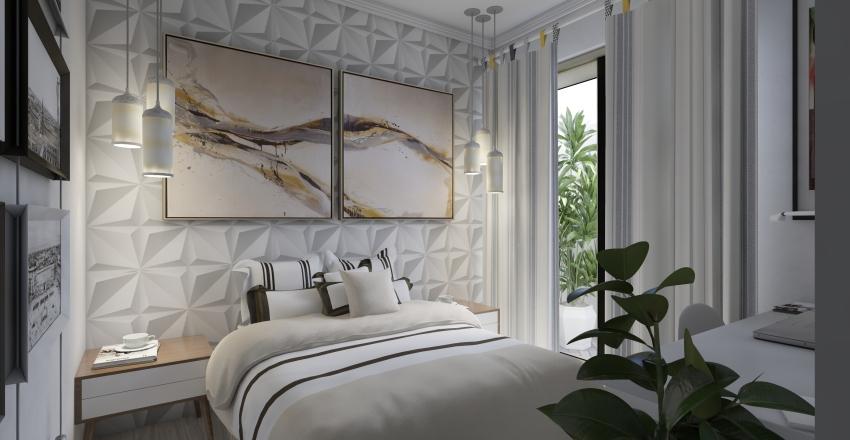 Quarto Nelice Interior Design Render