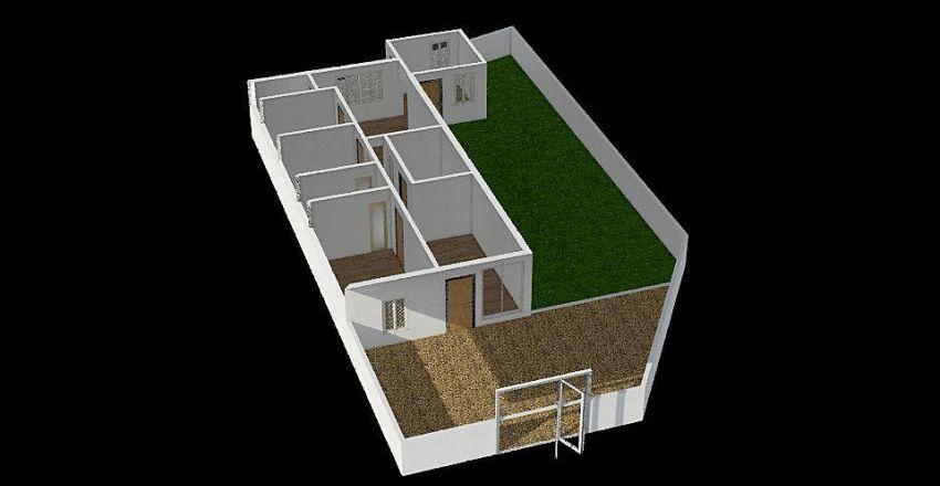 Rumah Serdang Interior Design Render