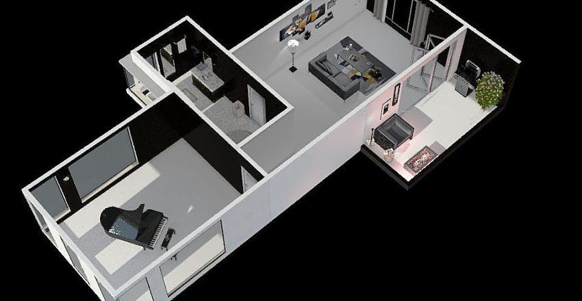 music roomท Interior Design Render