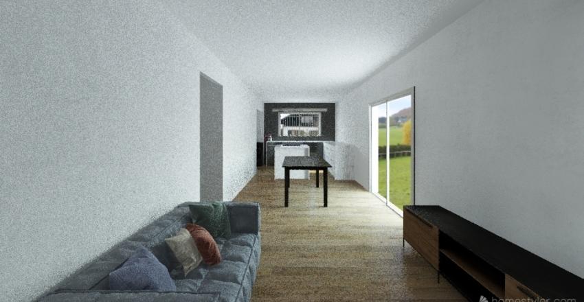 3 dor, lav y porch - 11x9 Interior Design Render