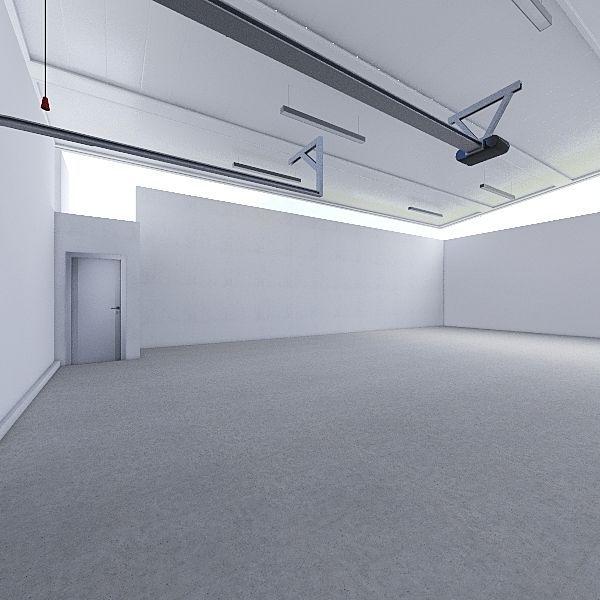 Garage CSL Interior Design Render