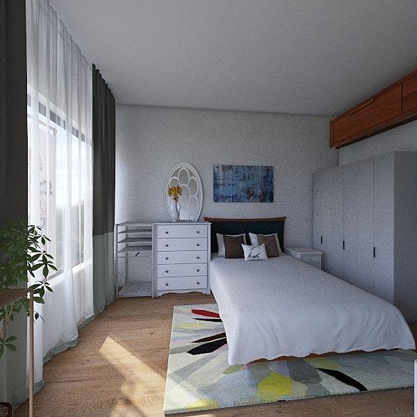 1 Room V4 Interior Design Render