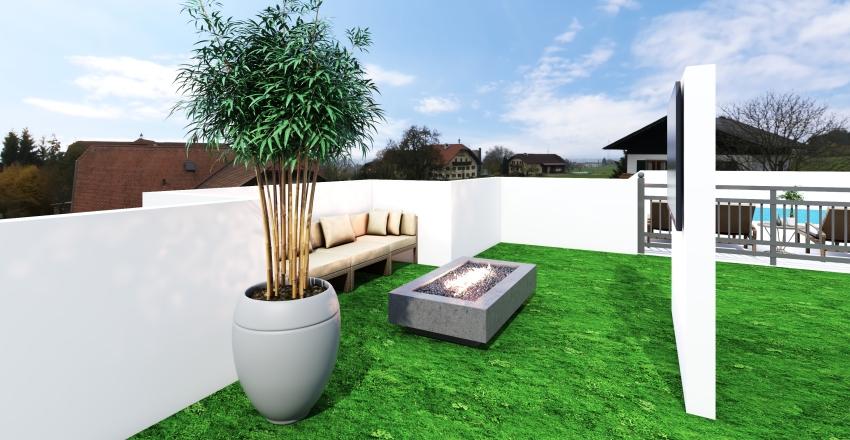 Tiny Luxury Interior Design Render