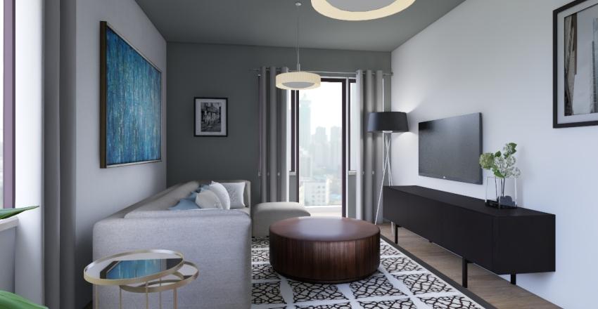 New_appartment 82 m2 Interior Design Render