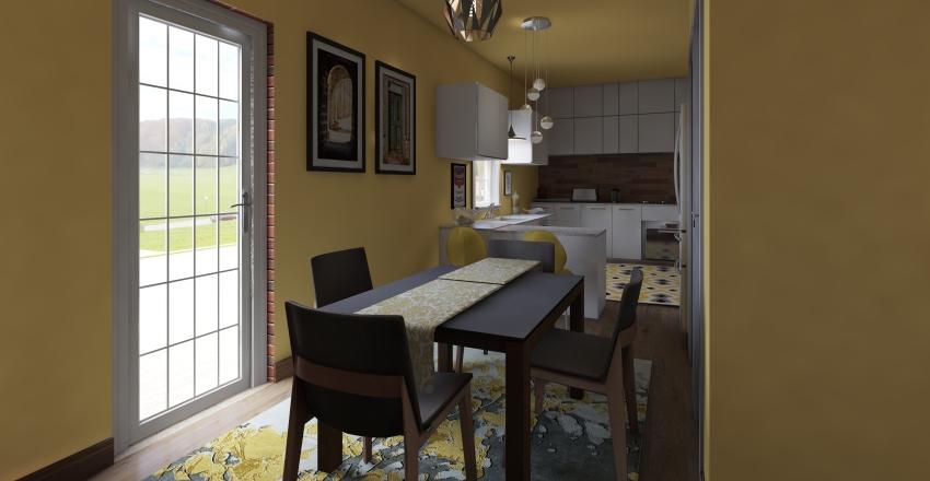 Downstairs Interior Design Render