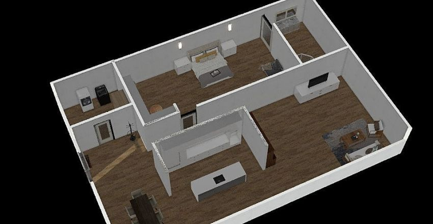 montse's home :) Interior Design Render