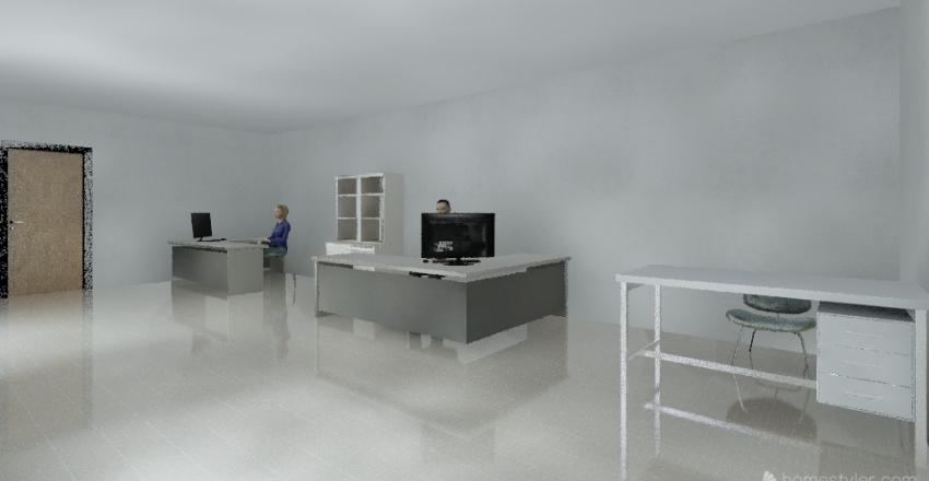 Projeto Sede Interior Design Render