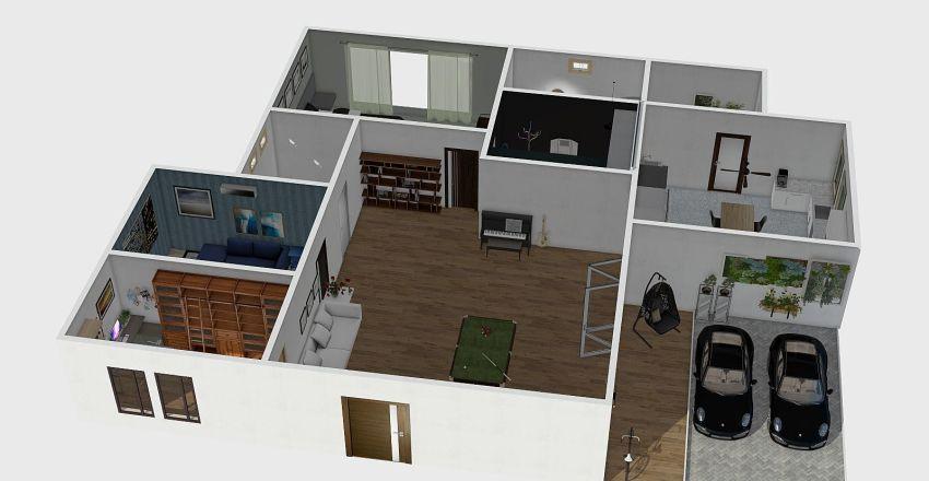 HomePink Interior Design Render
