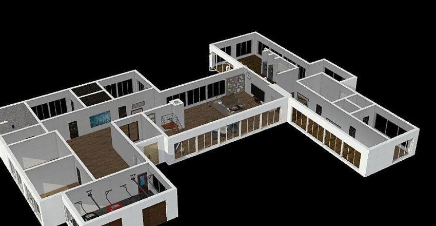 1florr restore Interior Design Render