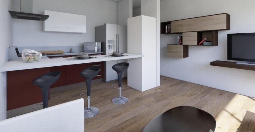 Promoción de viviendas en Rambla Pulido (Santa Cruz de Tenerife) Interior Design Render