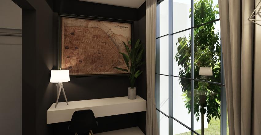 House. Interior Design Render