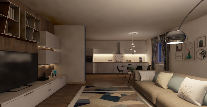 casa #65 Interior Design Render