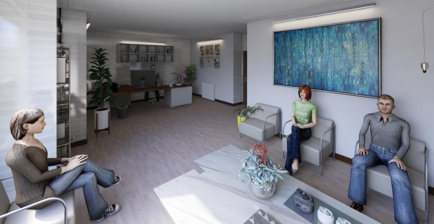 clinic Interior Design Render