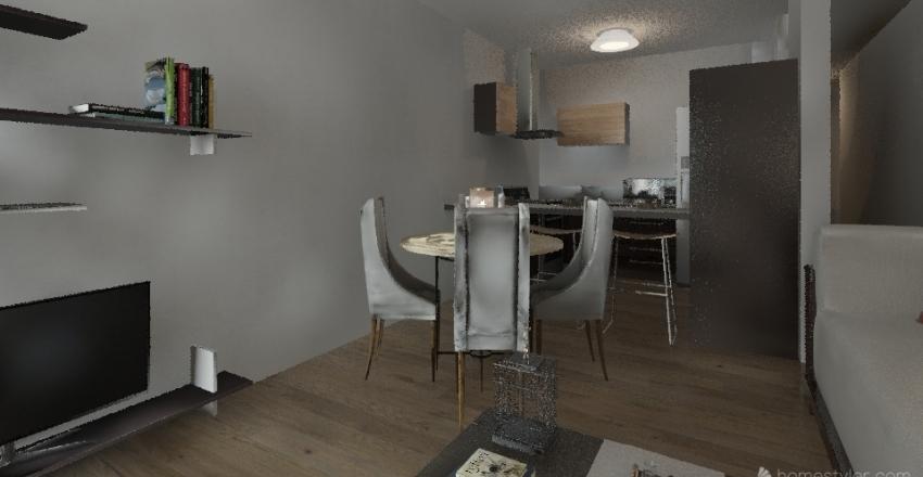 Promoción de viviendas de dos dormitorios en Rambla de Pulido (Santa Cruz) Interior Design Render