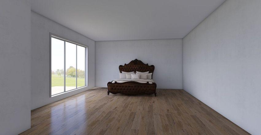 the cabin Interior Design Render
