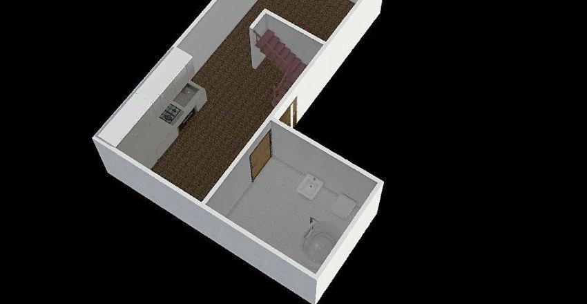 holečkova půdní byt václav kulička mladší Interior Design Render