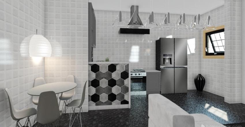 slatka-kucica Interior Design Render