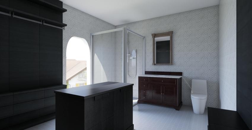 ingle masterbath Interior Design Render