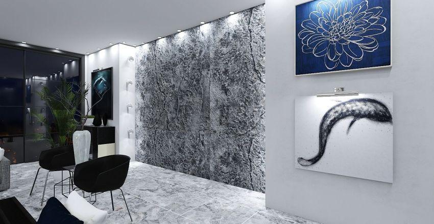 classic Interior Design Render