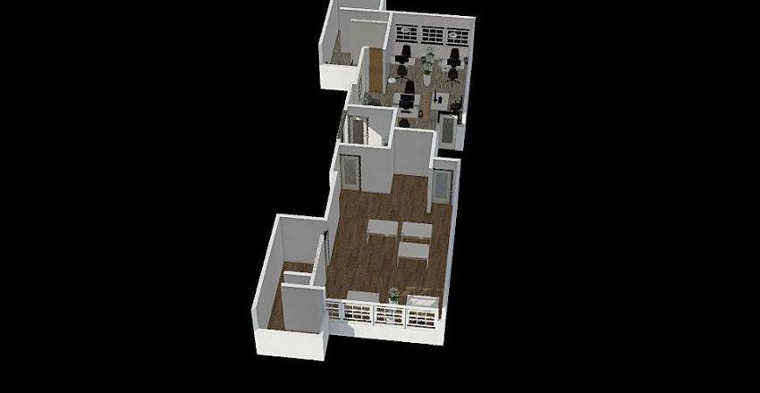 6º Andar Novo - Novo Projeto Interior Design Render