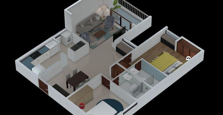 TYPE 2B-1 Interior Design Render