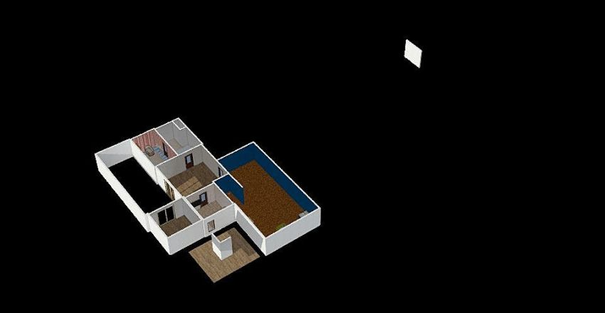 maison de rose Interior Design Render