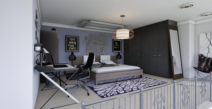 Apartment with Loft - Take 1 Interior Design Render