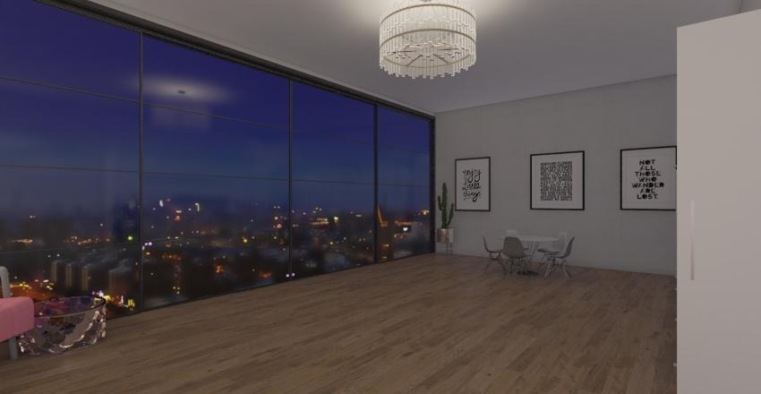 Small hangout Interior Design Render