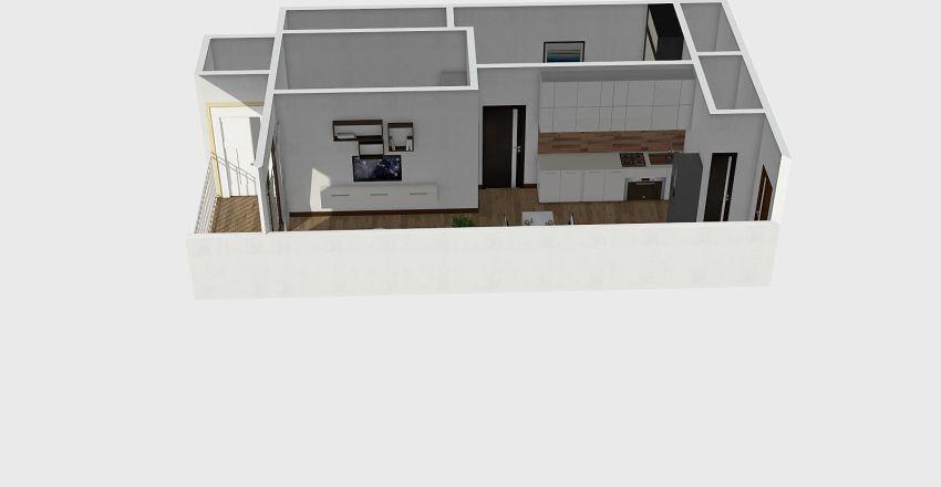 65m2 Hausneo Interior Design Render