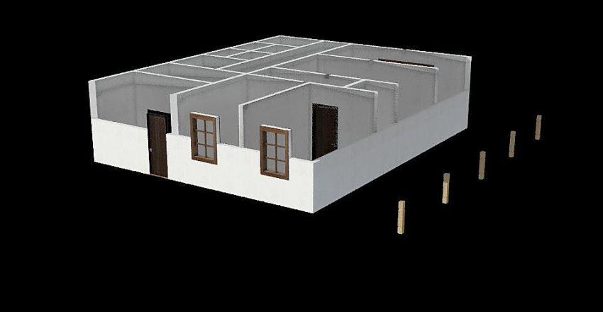 Szatnia 1 Interior Design Render