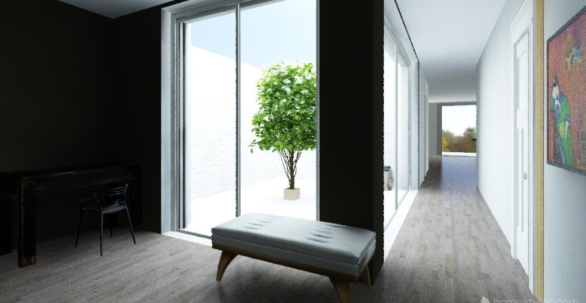 zHouse Cucina Esterna Interior Design Render