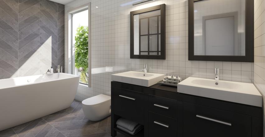 Wc suite Interior Design Render