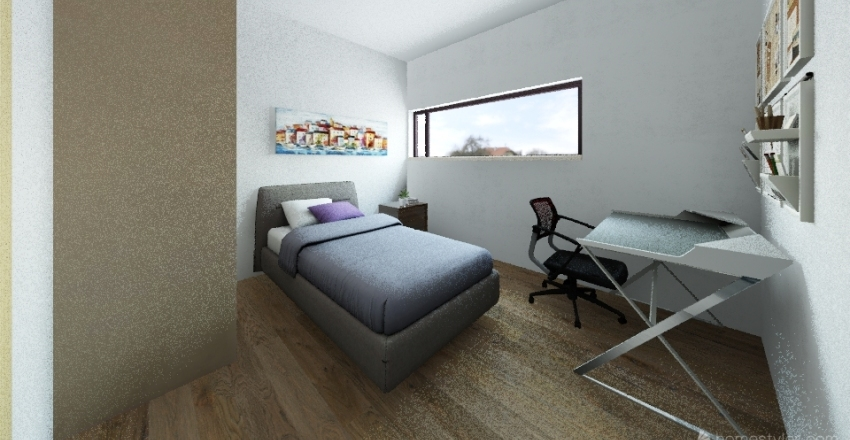 468D Interior Design Render