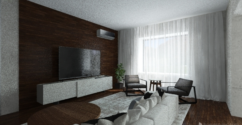 урок планировка верно Interior Design Render