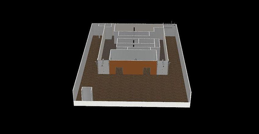 TCY Factory Interior Design Render