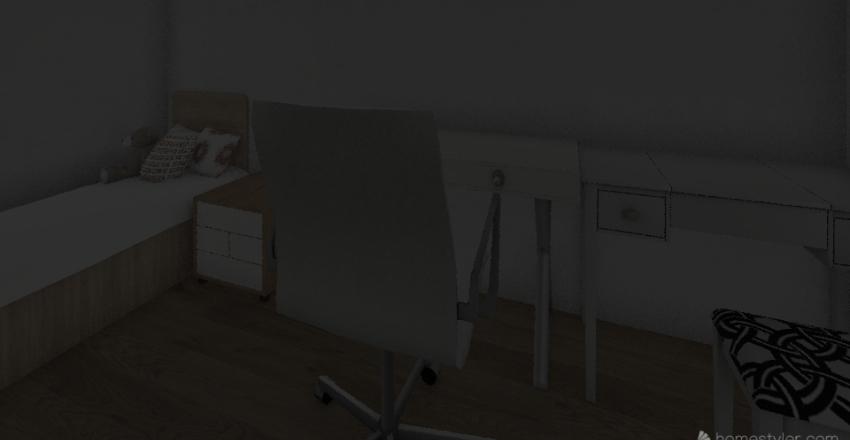 starter home  Interior Design Render