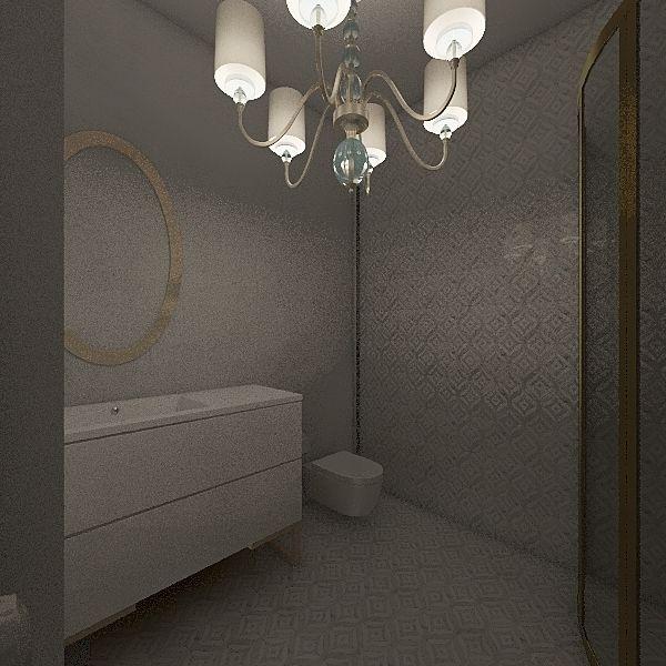 villa privor Interior Design Render
