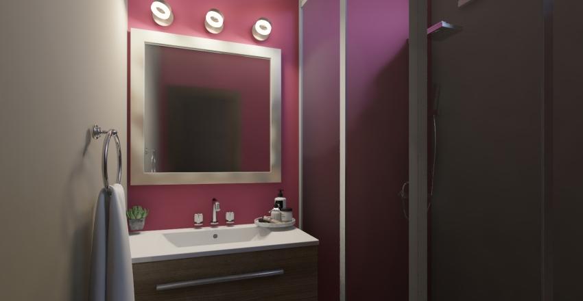 Tiny Contemporary House Interior Design Render