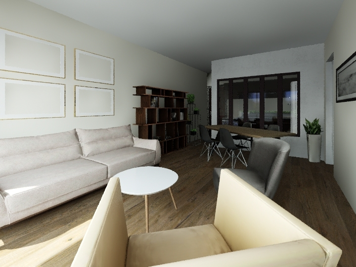 Rue Jacquard Interior Design Render