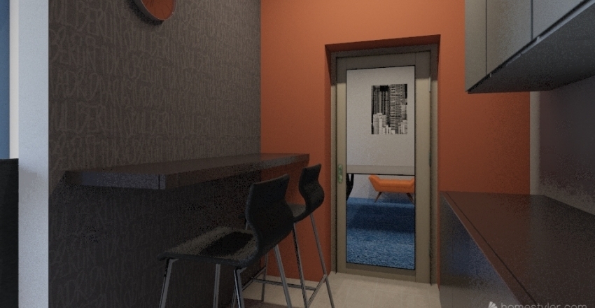 New_office Interior Design Render