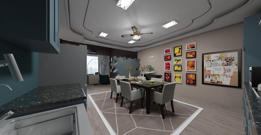 CHOCOLATER STUDIO ROOM Interior Design Render