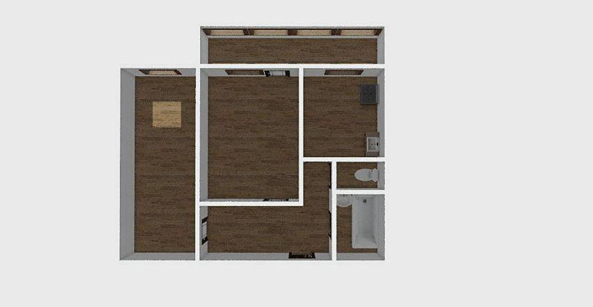 2-комн_0296 Interior Design Render