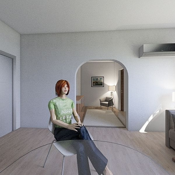Formello 2 Interior Design Render