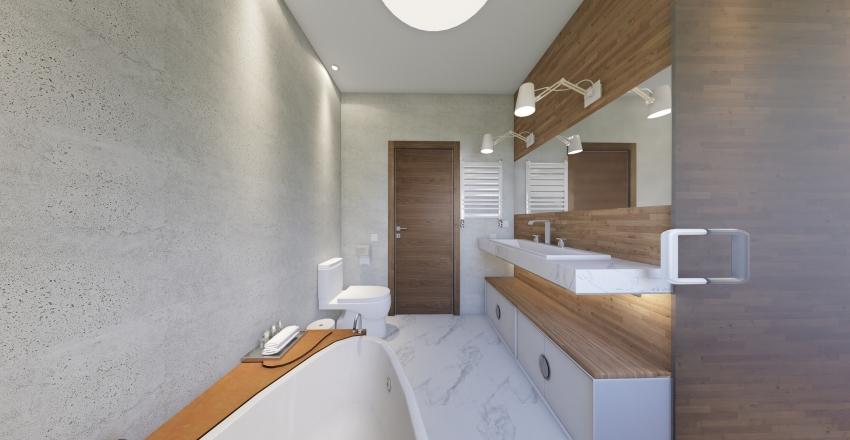 Боголюби bathroom Interior Design Render