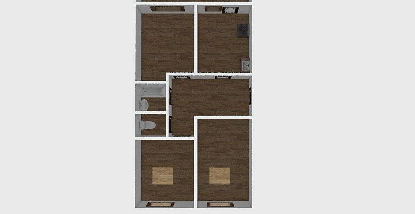 3-комн_073 Interior Design Render