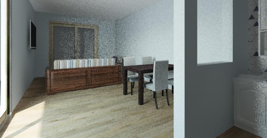 casa Luciana Interior Design Render