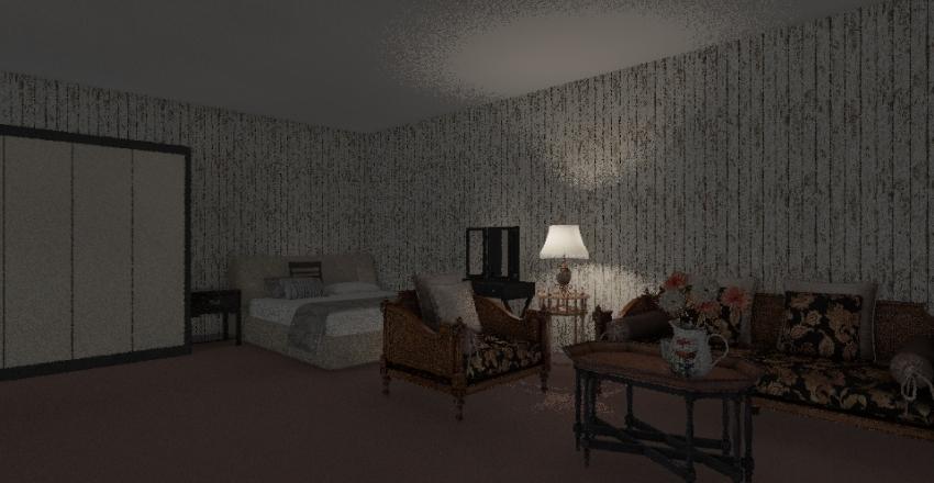 Maison d'un seul personne Interior Design Render