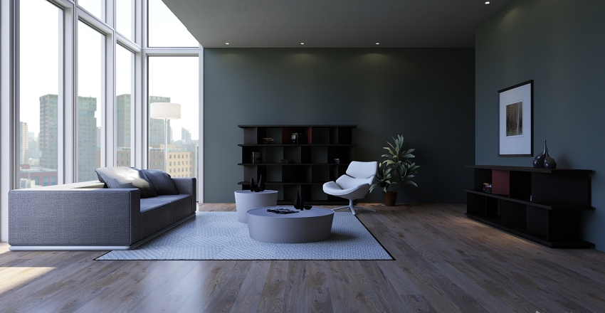 Minimalista Interior Design Render